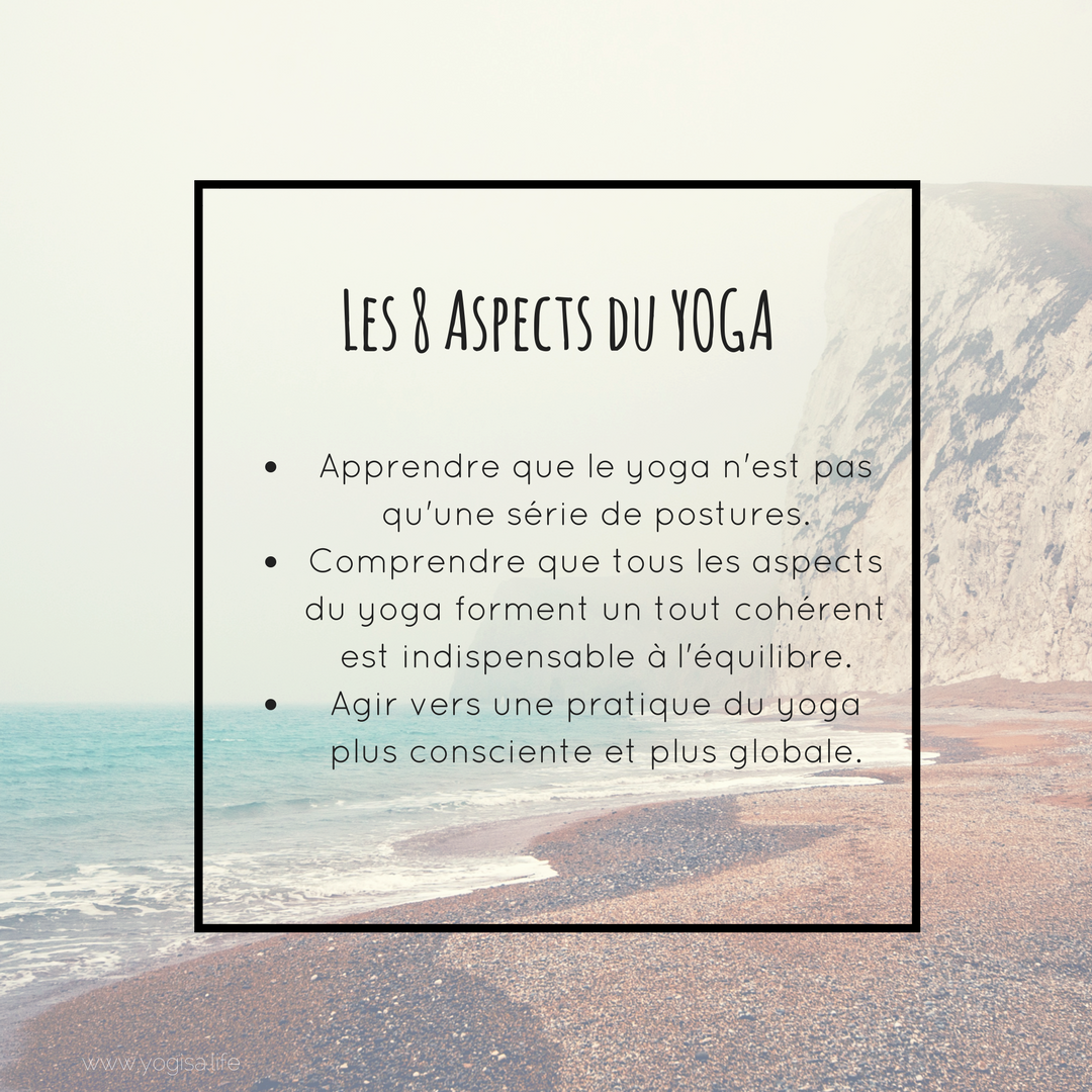 Les 8 aspects du yoga