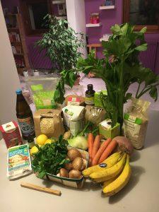 légumes frais et bio