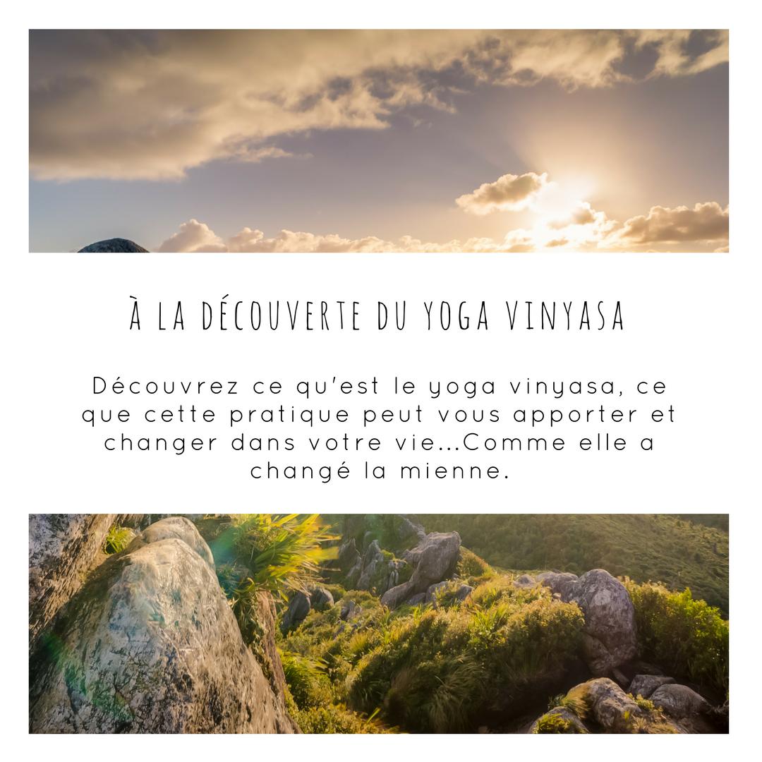 Qu'est ce que le yoga vinyasa et comment faire les transitions