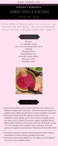 recette vegan houmous de betterave spécial thermomix