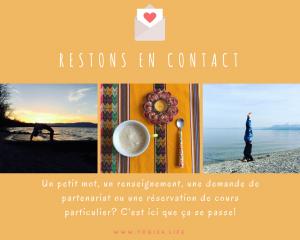formulaire contact blog yogisalife yoga cuisine développement personnel