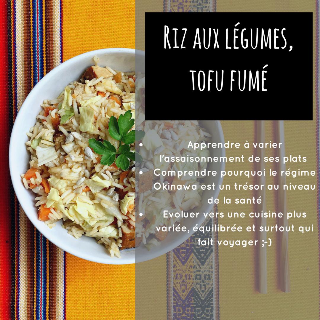 riz tofu sans gluten sain rapide yogique okinawa vegan