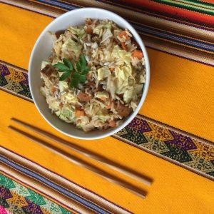 riz au tofu okinawa cuisine yogique vegan sans gluten
