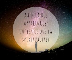 spiritualité, la face cachée