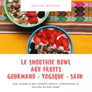 miam ô fruit revisité version smoothie bowl vegan sans gluten