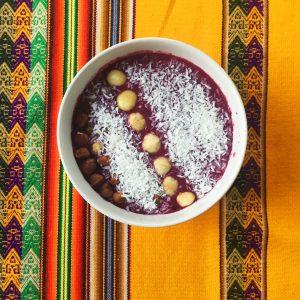 smoothie petit déjeuner sain vegan sans gluten