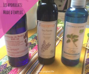 hydrolats mode d'emploi aromathérapie douce naturopathie