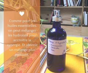hydrolats aromathérapie douce