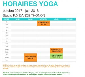 yoga vinyasa studio fly dance thonon yogisa
