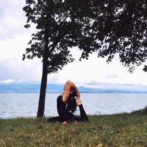 yoga et réseaux sociaux instagram