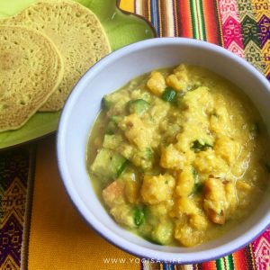 curry de légumes aux pois chiches vegan sans gluten