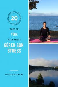 20 jours de yoga pour mieux gérer son stress