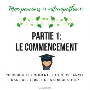 études en naturopathie