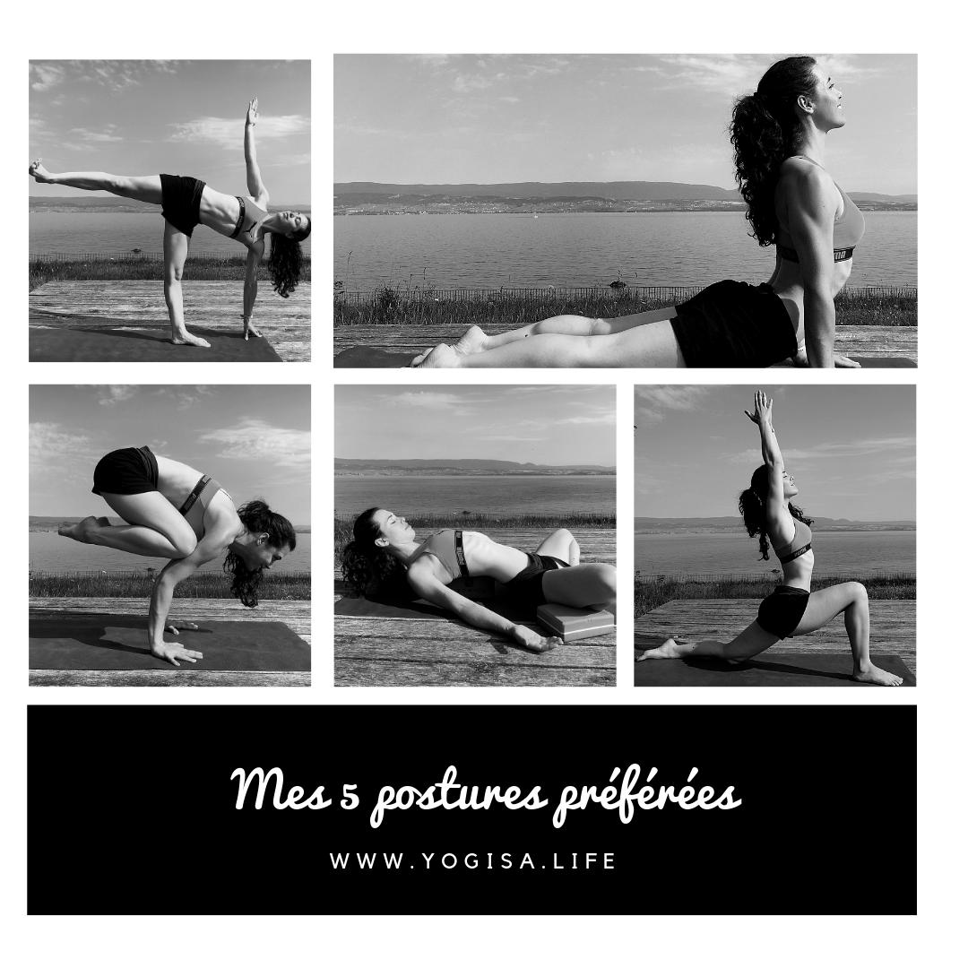 mes 5 postures favorites