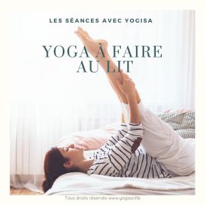 Yoga au lit